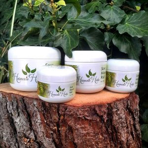 Sore Muscle Rub Salve Family from Harmonic Herbs