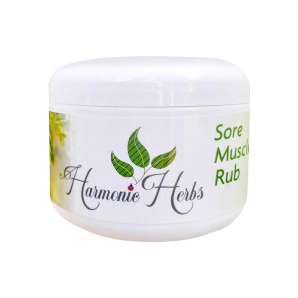 Sore Muscle Rub Salve from Harmonic Herbs