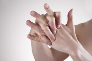 Use Sore Muscle Rub from Harmonic Herbs on bruised hands